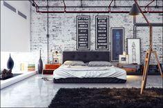 Industrial bedroom CAM-01 by ~index11