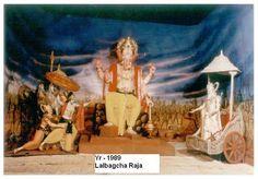 Lalbaugcha Ganesh Image 1989