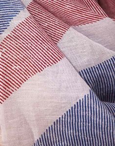 French Connection @ASOS Union Jack linen/cotton scarf £30