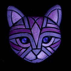 Cat Cinders by Linda Webb Clay ~  x