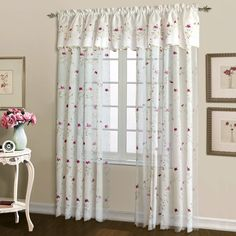 Parkes Rod Pocket Curtain Panel