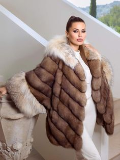 mostly forced fem and all round female fashion posts. Hit tag for just Fur fashion pics. use for forced fem caps that often include furs Sable Fur Coat, Fox Fur Coat, Fur Coats, Fur Coat Fashion, Fur Accessories, Vintage Fur, Fur Jacket, Fashion Pictures, Coats For Women
