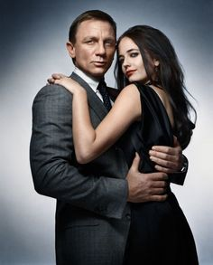 Daniel Craig and Eva Green Casino Royal 2006