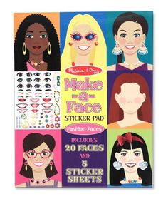 Melissa & Doug Make-A-Face Sticker Pad Melissa & Doug http://smile.amazon.com/dp/B00439BG98/ref=cm_sw_r_pi_dp_MmN-tb1ECMXEW