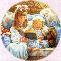 Sandra Kuck10 Paintings of children by Sandra Kuck