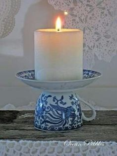 Make everyday a different sun day with your collection of exquisite eyewear. Keep fresh in the summer in bespoke eyewear! An unbeatable offer you cannot miss! Vintage Tea Cup Candle Holder / Be sure that the saucer is secured. Recognize this tea cup Em S Home Crafts, Crafts To Make, Diy Home Decor, Arts And Crafts, Diy Crafts, Cottage Crafts, Simple Crafts, Upcycled Crafts, Felt Crafts