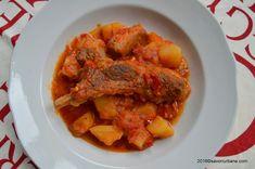 Mancare de cartofi cu carne de porc tocanita Savori Urbane