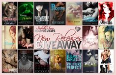 New Releases Giveaway.... Go on over to http://sinfullysexybooks.blogspot.com/2014/04/big-new-releases-and-giveaway.html to enter
