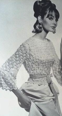 Jean Shrimpton by David Bailey. Vogue UK, June 1965