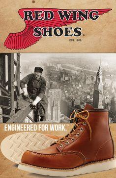Moc Toe Boots Men, Man Boots, Bottes Red Wing, Red Wing Boots, Denim Boots, Leather Boots, Red Wing Moc Toe, Men Closet, Mens Boots Fashion