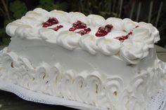Torta para diabeticos de crema de limon y frutos rojos