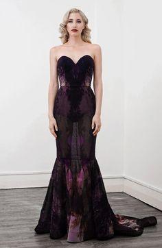 Lexi Iris Full Length Gown