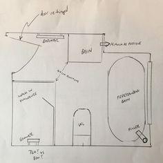 Corner Bath Shower, Bathroom With Shower And Bath, Small Bathroom, Family Bathroom, Walk In Shower Enclosures, Frameless Shower Enclosures, Bathroom Suites Uk, Bathroom Plans, Bathroom Ideas