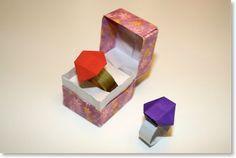 Les Origami de Senbazuru - bague origami