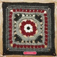 "KalevalaCAL2017  1. ""Ilmatar"" Granny Squares, Bedspread, Thing 1, Blanket, Rugs, Home Decor, Pattern, Projects, Quilt Cover"