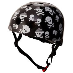 Kiddimoto Skullz Helmet Small 0: kiddimoto: Amazon.co.uk: Sports & Outdoors