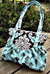 Fiona Handbag Pattern * from 'purse patterns'.  These are not free patterns... but OMG there are SOooo many to choose from, so many styles.