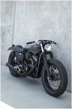 I love black out bikes and cars