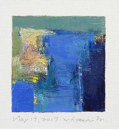 may192017 | Oil on canvas 9 cm x 9 cm © 2017 Hiroshi Matsumo… | Flickr