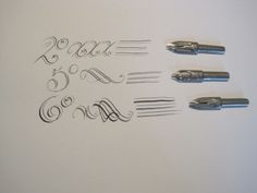 calligraphy doppel feder - Buscar con Google