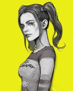 Harley Quinn - cocktail - pixiv