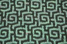 Mozaïek breien voor een mooi grafisch effect