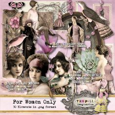 Deviant Scrap itKuPiLLi Imagenarium For Women Only