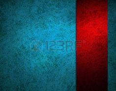 абстрактных синем фоне ярко-красных полос ленты на границе кадра имеет старинные текстуры гранж фон и яркие цвета и внимания, пустой фон шаблон для текста элегантный фон меню photo