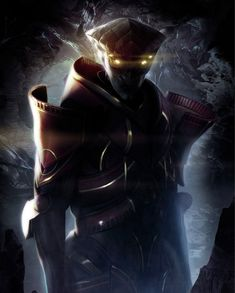 Javik - Pictures & Characters Art - Mass Effect 3