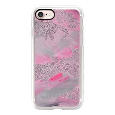 Pink Cotton Candy - iPhone 7 Case, iPhone 7 Plus Case, iPhone 7 Cover,... (1,845 DOP) ❤ liked on Polyvore featuring accessories, tech accessories, iphone case, iphone cover case, apple iphone case, pink iphone case and iphone cases