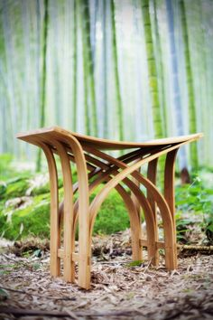 df1965810f30 Flexible Bamboo Stool by Grass Studio. This green craft and friendly  environment furniture products is the flexible bamboo stools created by  Taiwan-based ...