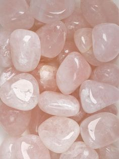 Polished Rose Quartz Tumbled Stones