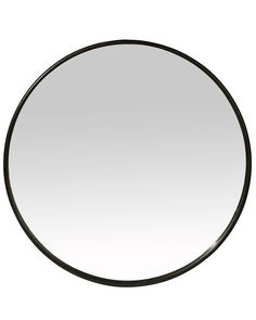 A stylish large round black contemporary wall mirror with a minimal metal frame. With elegant modern styling, this mirror works well anywhere in the home. Large Round Wall Mirror, Black Round Mirror, Round Mirrors, Bathroom Mirror Storage, Hallway Mirror, Bathroom Mirrors, Bathrooms, Downstairs Bathroom, Mirror Words