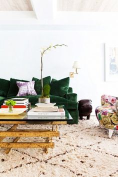 Layering in a Color You Love: From a Hint to a Whole Lot | Apartment Therapy