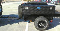 homemade jeep trailer | My Jeeps