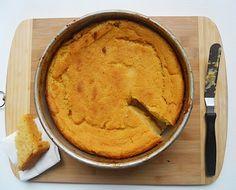 Dominican culinary tradition: Arepa - cornbread made with coconut milk, cinnamon, egg....naturally gluten-free