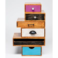 Set 6 Cajones Malibu   Material: Madera de Mango   Mueble realizado en ... Eur:351 / $466.83