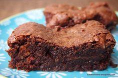 Süß, süßer, Nuss-Nougat-Brownies: Schoko-Futter für die Seele - Schokohimmel