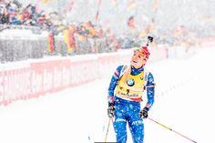 Gabriela Soukalová se raduje z triumfu v závodě s hromadným startem. | na serveru Lidovky.cz | aktuální zprávy