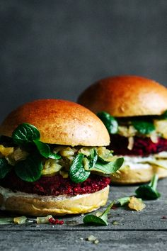 Beetroot Burger | HERB HEAD