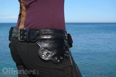 Leather Utility Hip Belt _6.One.Ø_ High Quality by offrandes