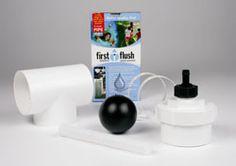 Rainharvesting First Flush Diverter