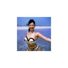 Famed Pinup Bettie Page Dies At Age 85 ❤ liked on Polyvore