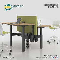 Furniture Box, Solid Wood Furniture, Furniture Design, Standing Desk Height, Standing Table, Partition Screen, Sit Stand Desk, Work Station Desk, Adjustable Height Desk