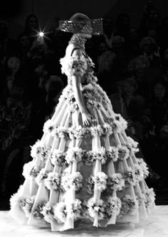 Alexander McQueen spring 2013 rtw by Louise Damgaard