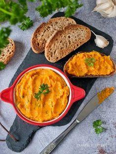 Fokhagymás sütőtökkrém Clean Recipes, Cooking Recipes, Healthy Recipes, Vegan Menu, Weekday Meals, Hungarian Recipes, Food 52, Food Hacks, Tapas