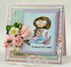 The Crafty Side Of Me....: Kraftin' Kimmie Stamps Klubhouse Kit - Sea Jewels!!