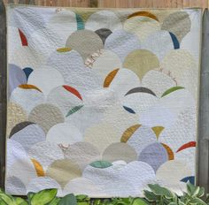 Dunes quilt (adapted Glam Clam) by Jenna Brand