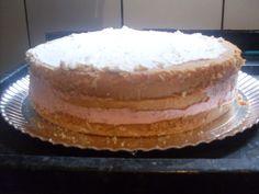 Recheio de bolo de festa de morango