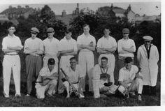 Church Lads Cricket Team.  1930's. Photo courtesy of V. Hopkinson.